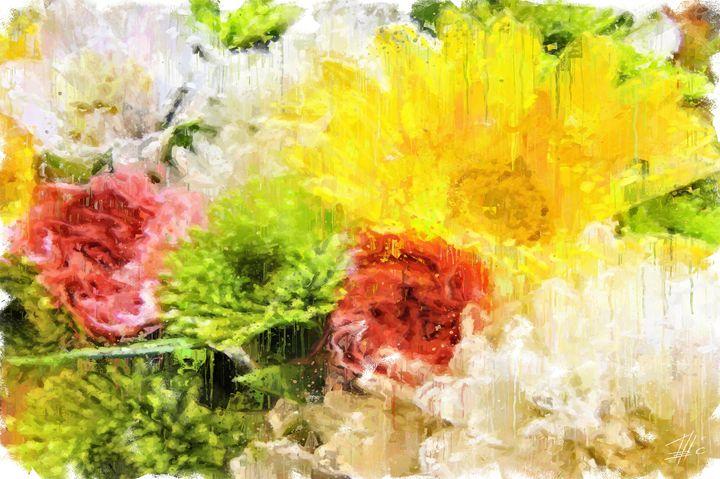 Yellow Gerbera - Theodor Decker