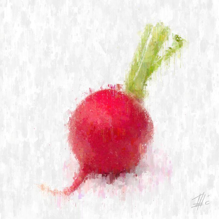 Red Radish - Theodor Decker