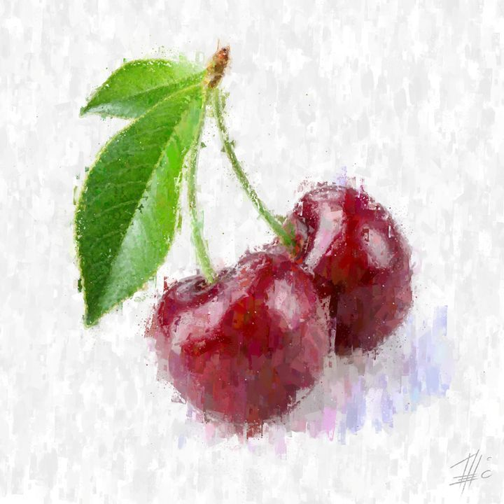 Red Cherries - Theodor Decker