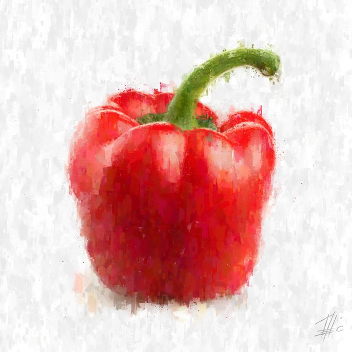 Red Pepper - Theodor Decker