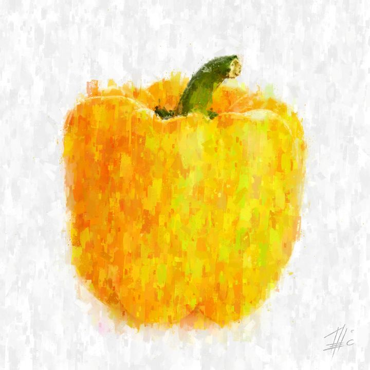 Yellow Pepper - Theodor Decker