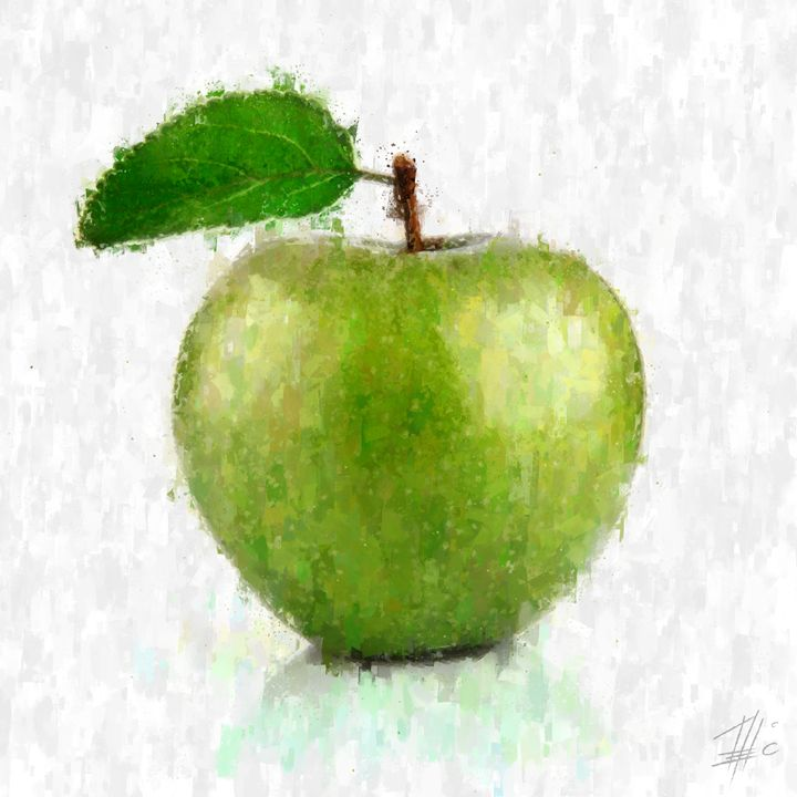 Green Apple - Theodor Decker
