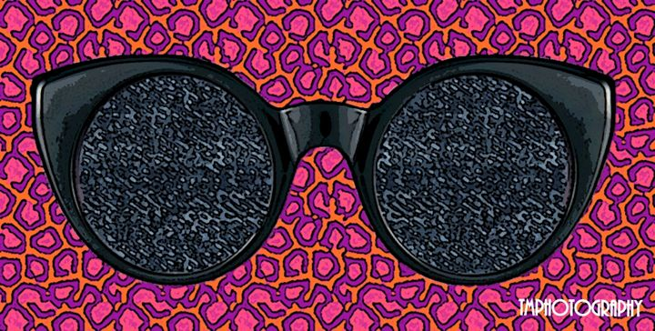 Pink Leopard and Jean Glasses - TMphotographyBaltimore