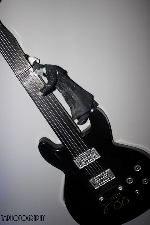 Black and White Sin City Guitar - TMphotographyBaltimore