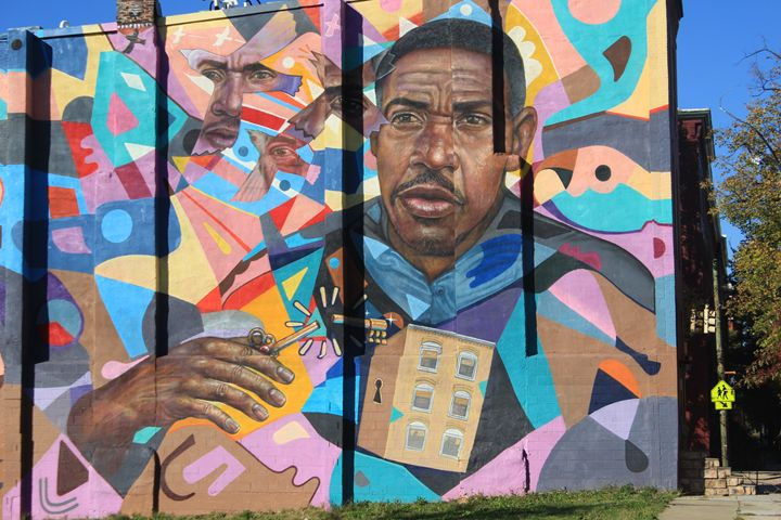 West Baltimore Graffiti Wall - TMphotographyBaltimore