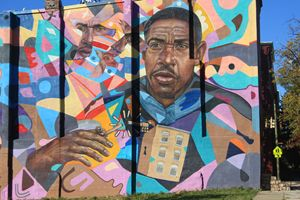 West Baltimore Graffiti Wall