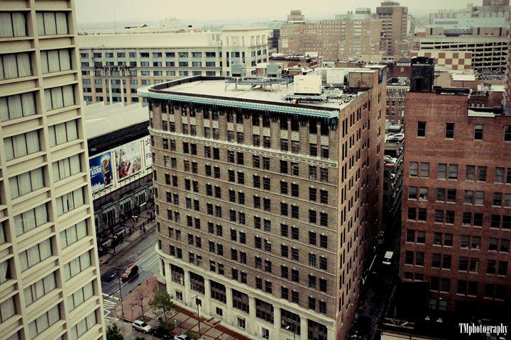 Baltimore Harbor Hotel View 1 - TMphotographyBaltimore