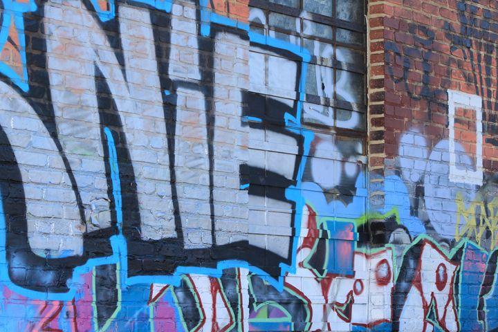 Charles Street Graffiti Wall - TMphotographyBaltimore