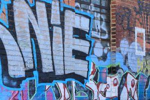 Charles Street Graffiti Wall