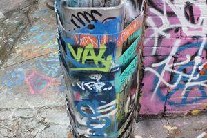 Corner Graffiti Howard Street