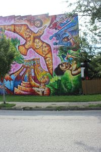 Dreaming with Baltimore Graffiti