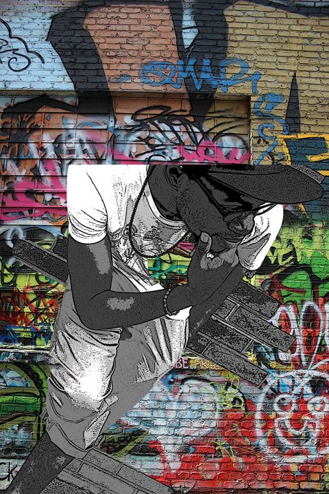 Nived in Graffiti - TMphotographyBaltimore