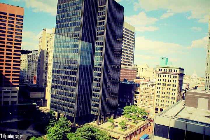 Downtown Baltimore View 3 - TMphotographyBaltimore