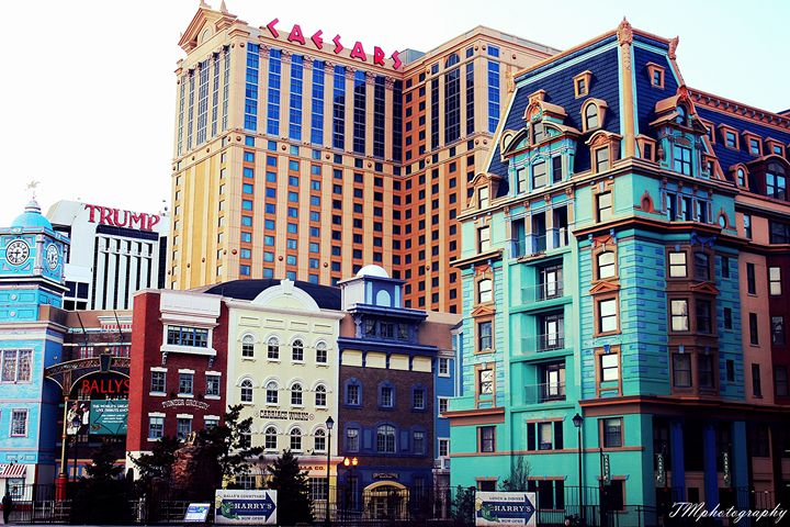 Caesars and Trump Hotel View - TMphotographyBaltimore