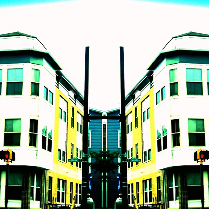 Mirror Image of Lombard Street - TMphotographyBaltimore