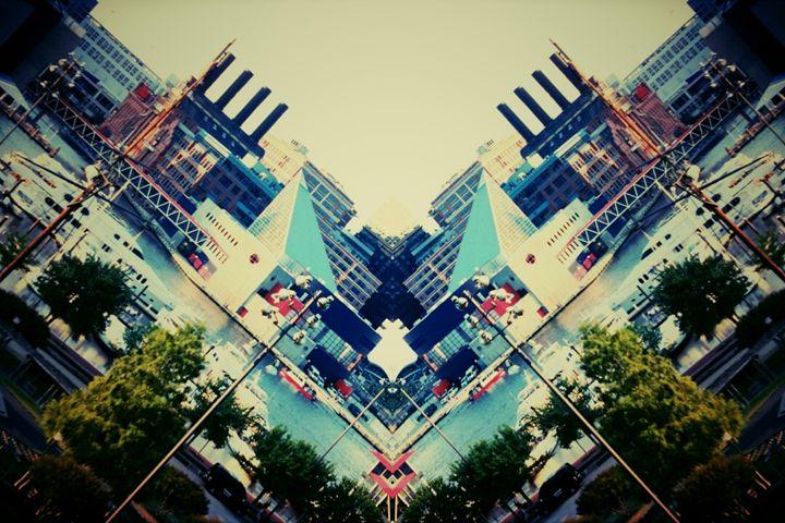 Fells Point Mirror Image - TMphotographyBaltimore