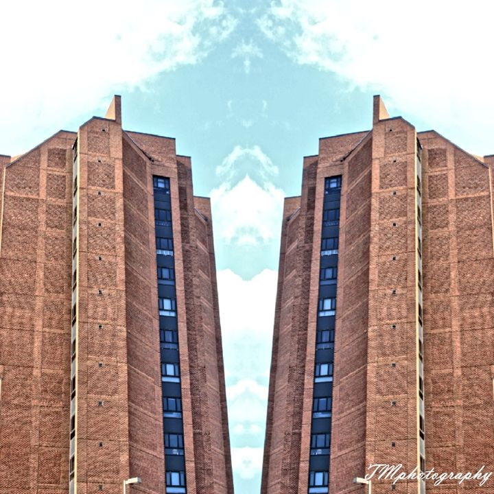 Fells Point Building Mirror Image - TMphotographyBaltimore