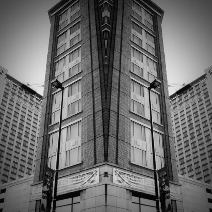 Black and White Mirror Image - TMphotographyBaltimore