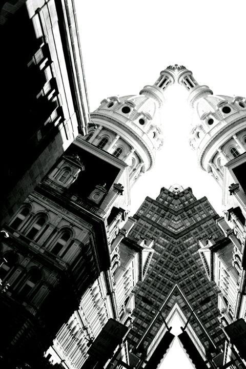 Calvert Street Black and White - TMphotographyBaltimore