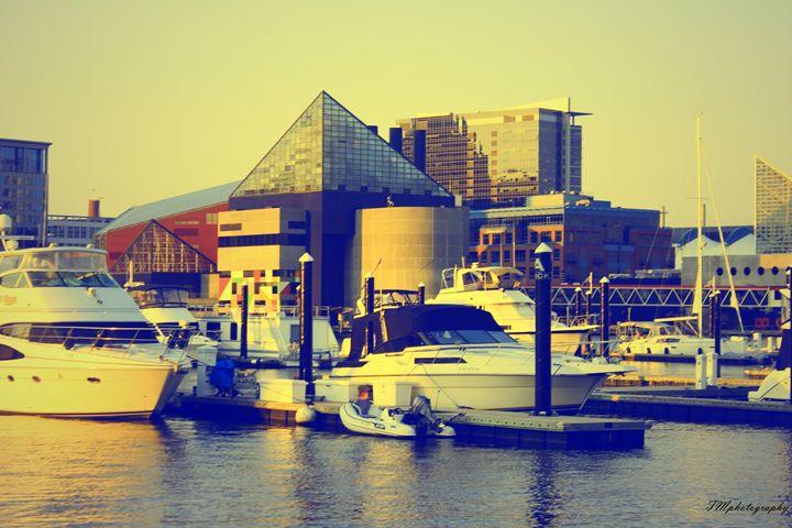 Baltimore Inner Harbor Boats - TMphotographyBaltimore