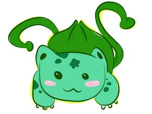 Pokemon Chibi Bulbasaur