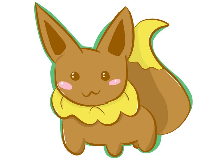 Pokemon Chibi Eevee - WasteSpectre Creations