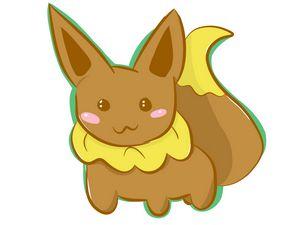 Pokemon Chibi Eevee