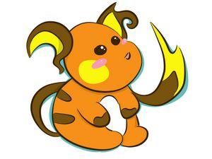 Pokemon Chibi Raichu