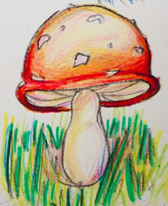 Red Amanita - My Linh O'Quinn