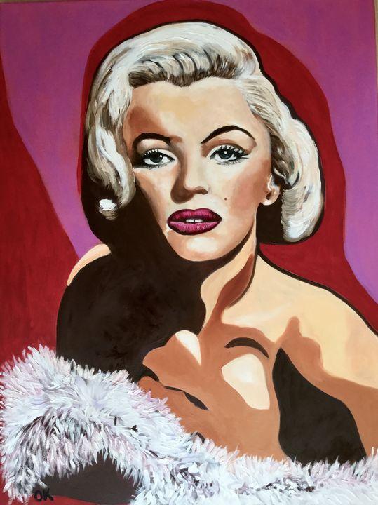 Marilyn Monroe portrait - Olga Koval