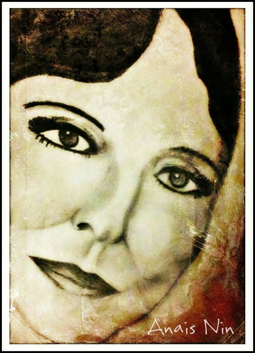 Portrait Print of Anais Nin - La Casa De Seviles