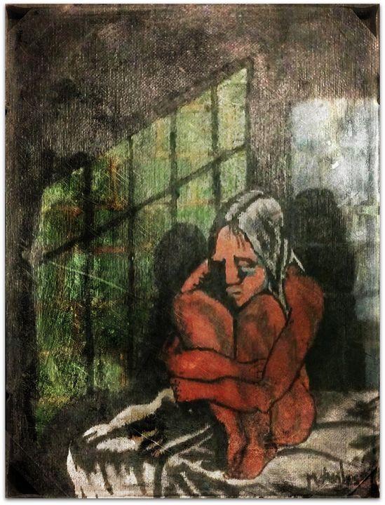 Walking Dead Inspired Painting! - La Casa De Seviles