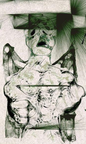 Digital Art of Angel in Pain! - La Casa De Seviles