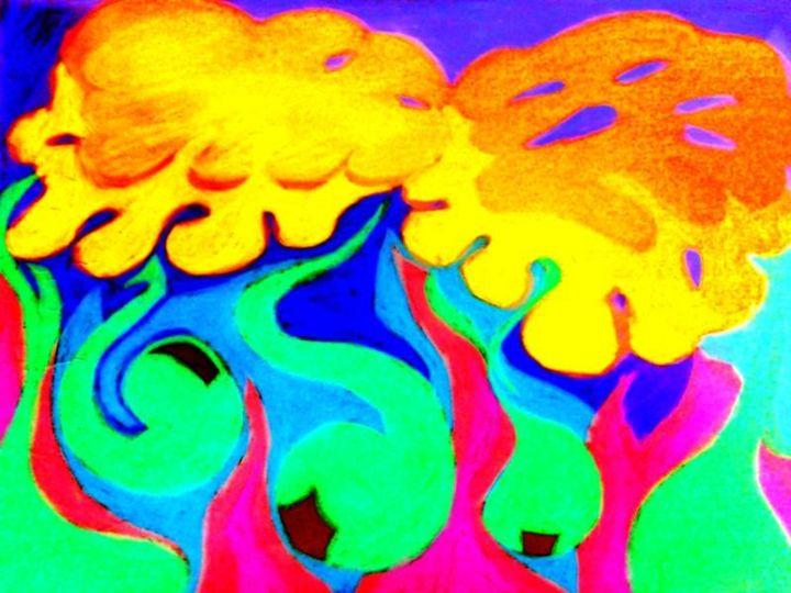 Abstract Pop Art Print - La Casa De Seviles