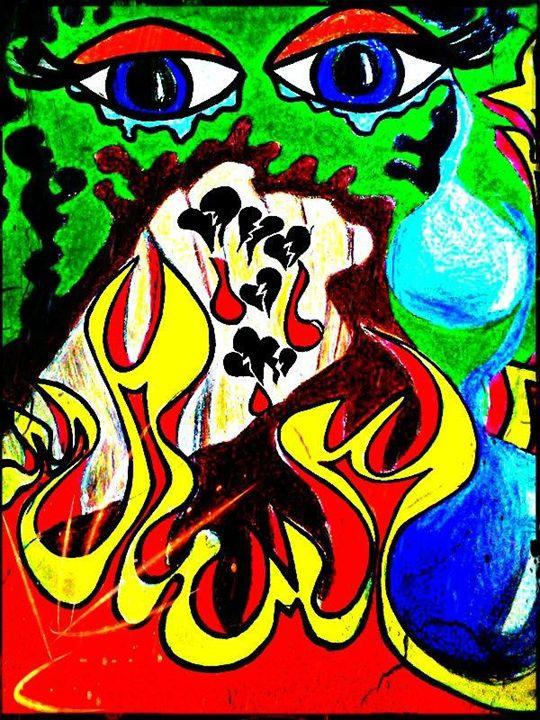 Psychedelic Pop Art Wall Print! - La Casa De Seviles
