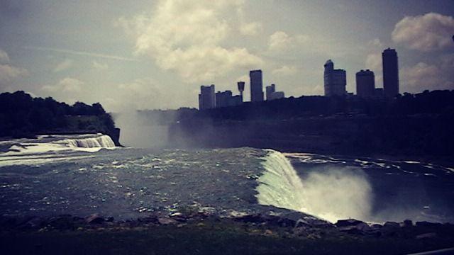 Digital Photograph of Niagara Falls - La Casa De Seviles
