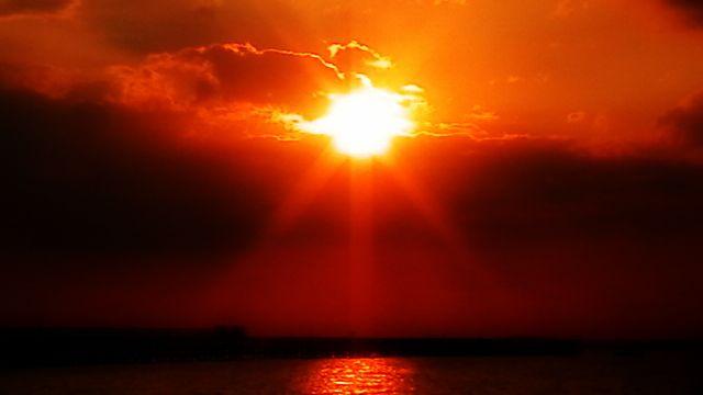 Digital Photograph of Sun Set - La Casa De Seviles