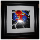 Print in Black 8x8 Frame with Matte