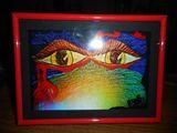 Red Framed Print in 5x7!