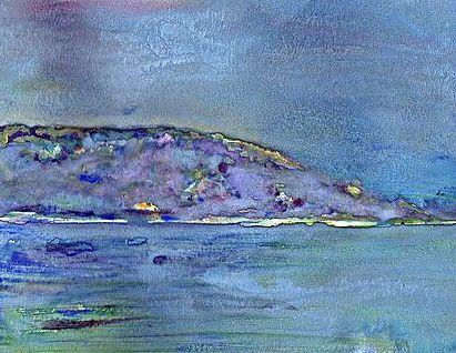 LAKE KEUKA - A BRUSH with ALAN