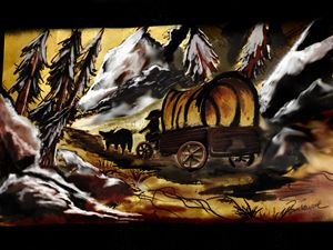 Haunted Journey by Veron Ramsawak - Veron Ramsawak Artitst