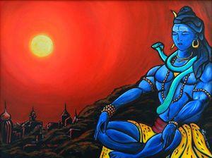 Shiva At Peace