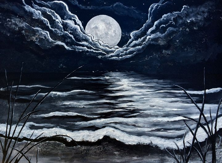 Moonlight Beach - Veron Ramsawak Artitst