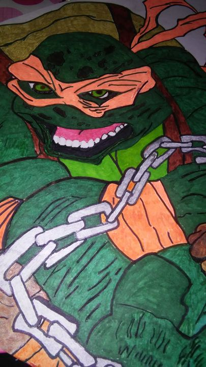 Ninja Turtles - Shatopher Designs