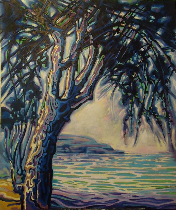 Pine Tree - Paintings