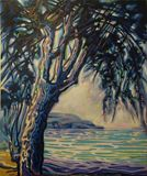 120 x 100 Tree Paint
