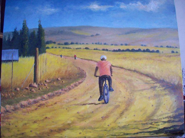 The road I travelled daily 2 - tatu somfula