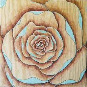 Teal Bloom - Ashton Hullinger