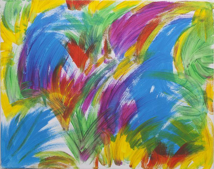 Flamingo Brush - Ashton Hullinger