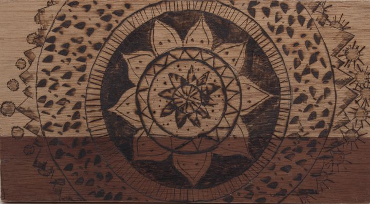Sun and Moon Mandala - Ashton Hullinger
